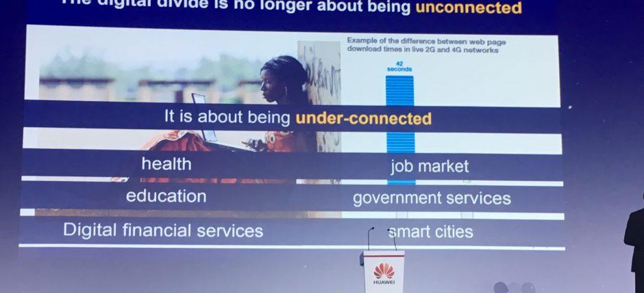 Digital Divide Unconnected UN